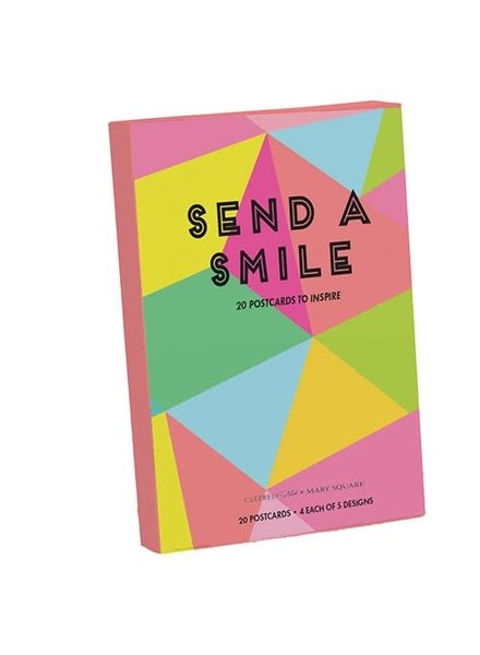 Mary Square Mary Square Postcard Book - Send A Smile
