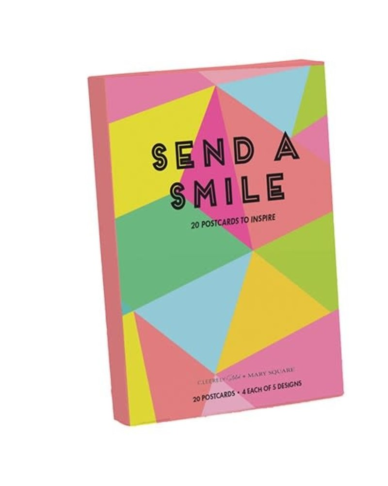 Mary Square Mary Square Postcard Book - Send A Smile