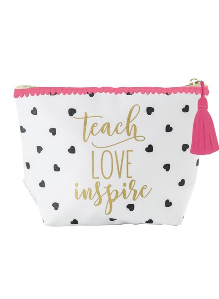 Mary Square Teach Love Inspire Carryall