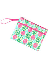 Wholesale Boutique Pineapple Zip Pouch