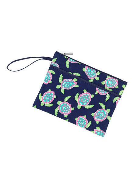 Wholesale Boutique Personalized Turtle Zip Pouch