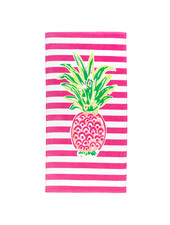 Wholesale Boutique Pineapple Striped Beach Towel