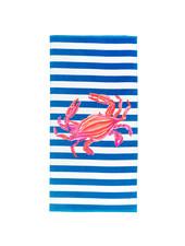 Wholesale Boutique Crab Striped Beach Towel