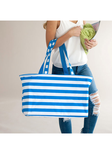 Wholesale Boutique Electric Blue Ultimate Tote