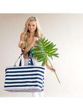 Wholesale Boutique Navy Blue Ultimate Tote
