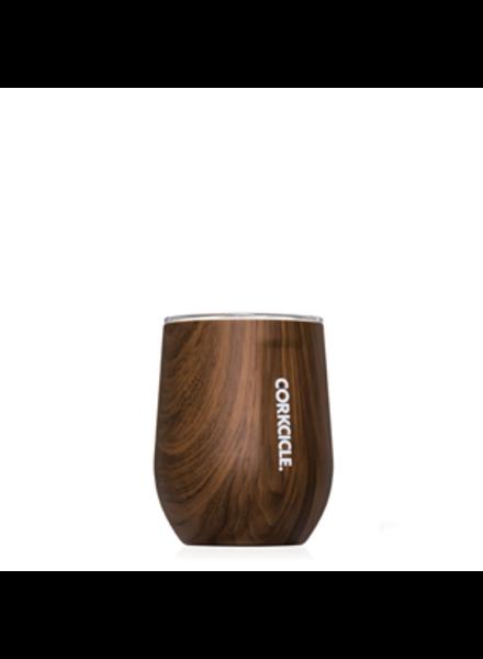 CORKCICLE Corkcicle Walnut Wood Stemless Wine