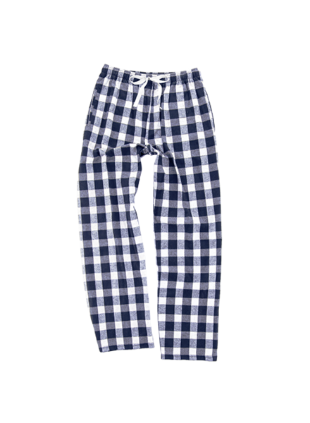 Boxercraft Navy Plaid Pajama Pant