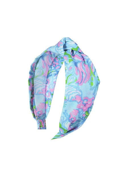Lilly Pulitzer Lilly Pulitzer Aqua La Vista Headband