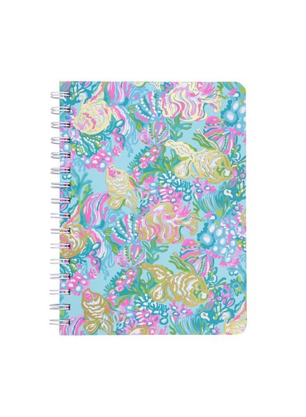 Lilly Pulitzer Lilly Pulitzer Aqua La Vista Mini Notebook
