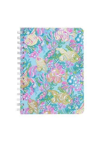 Lilly Pulitzer Lilly Pulitzer Aqua La Vista Mini Notebook