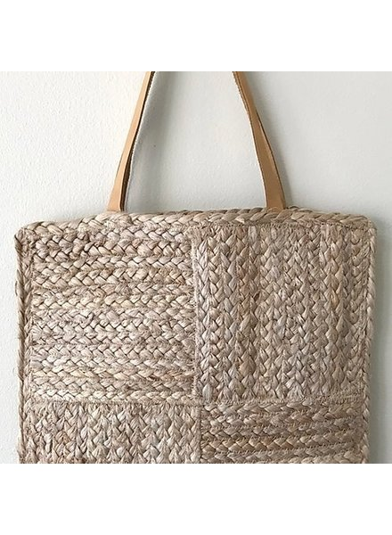 1968 & Co. 1968 Jute Braided Square Shopper