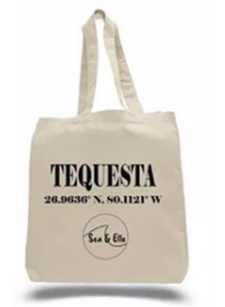 Sea & Elle Tequesta Coordinates Tote Bag