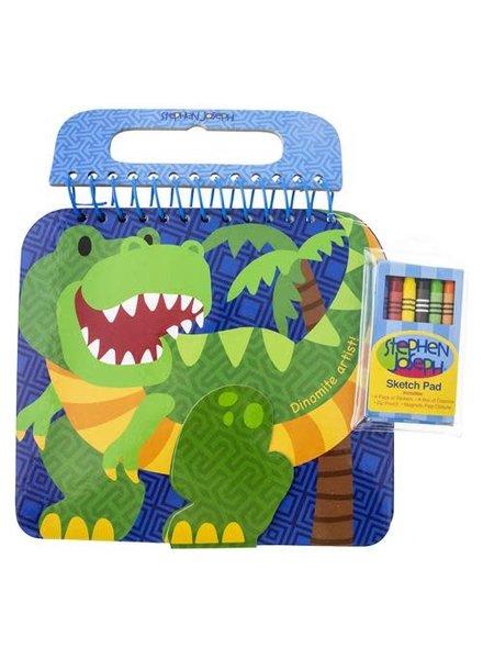 Stephen Joseph Dinosaur Sketch Pad