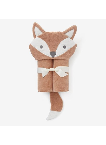 Elegant Baby Fox Hooded Bath Towel