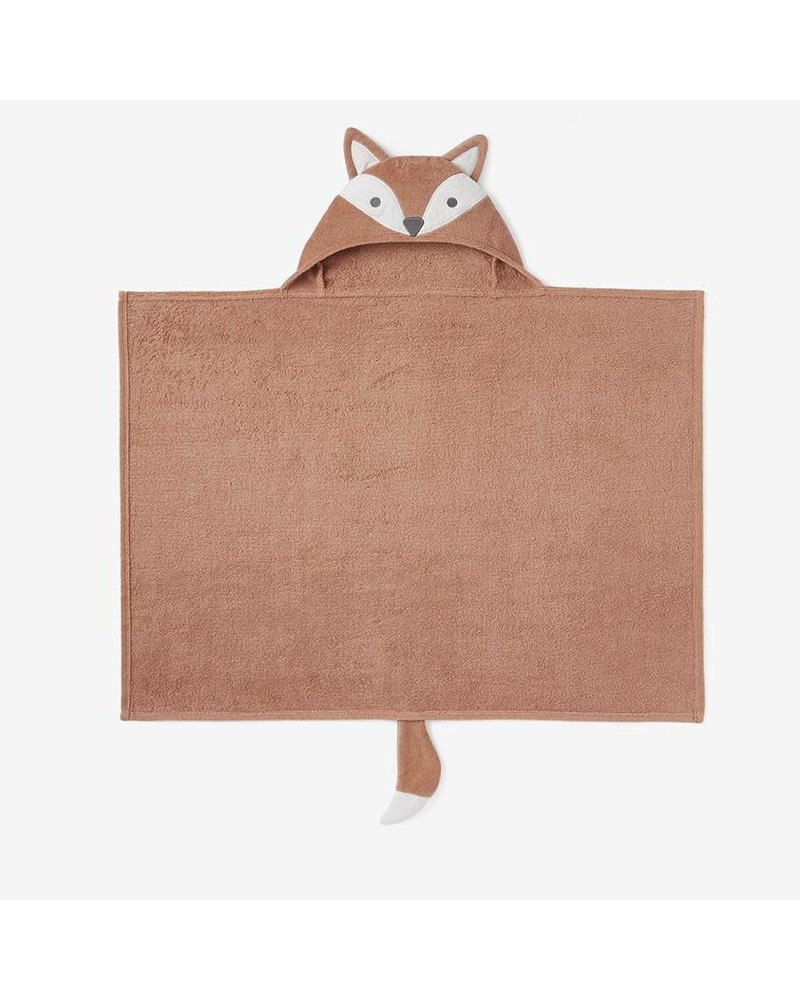 Elegant Baby Elegant Baby Hooded Bath Wrap Towel - Fox