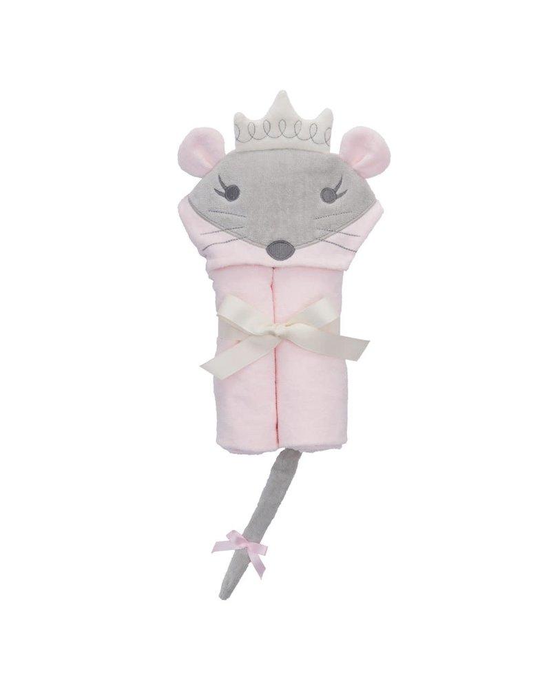Elegant Baby Elegant Baby Hooded Bath Wrap Towel - Princess Mouse