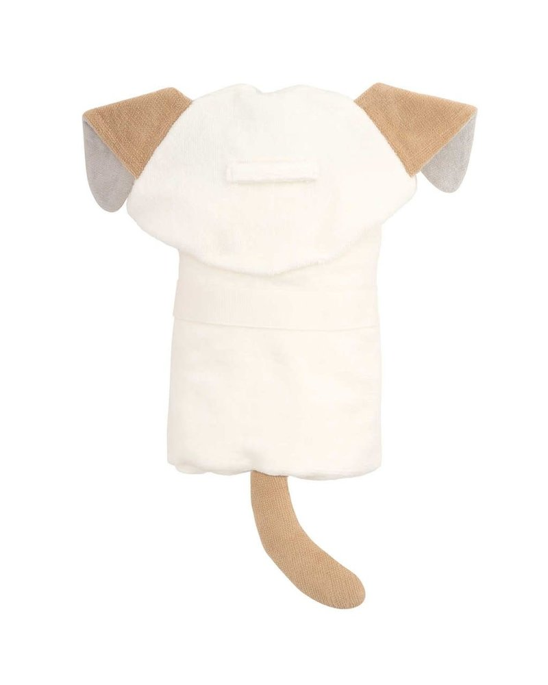 Elegant Baby Elegant Baby Hooded Bath Wrap Towel - Tan Puppy