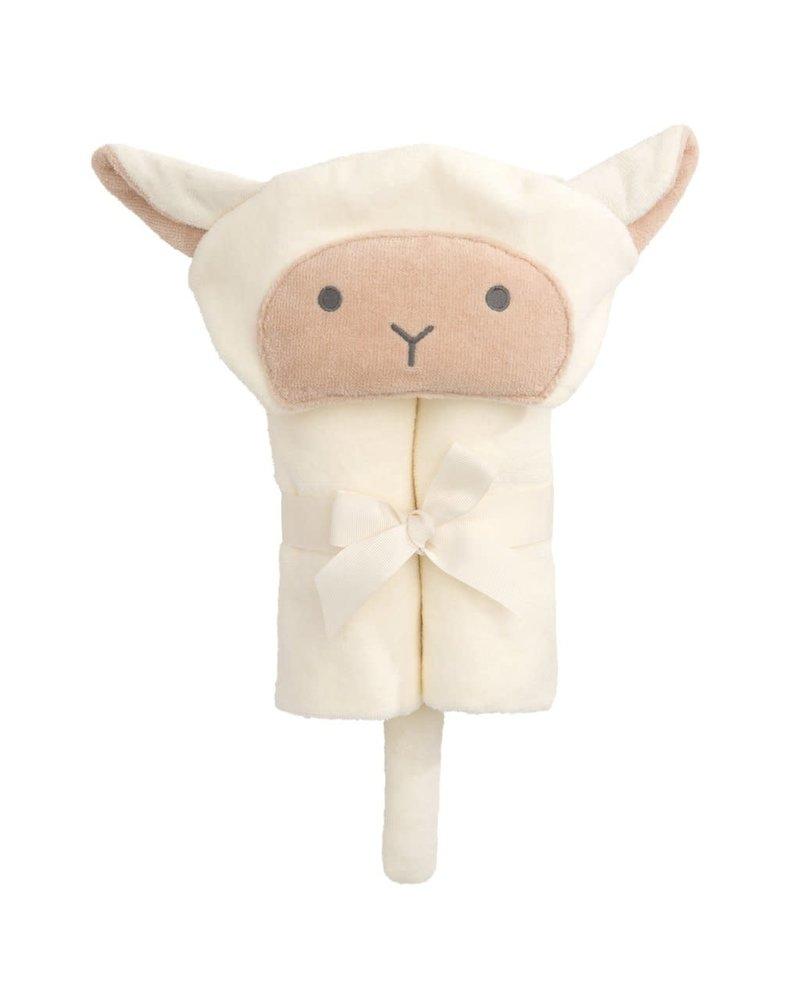 Elegant Baby Elegant Baby Hooded Bath Wrap Towel - Lamb