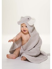 Elegant Baby Elephant Hooded Bath Wrap Towel