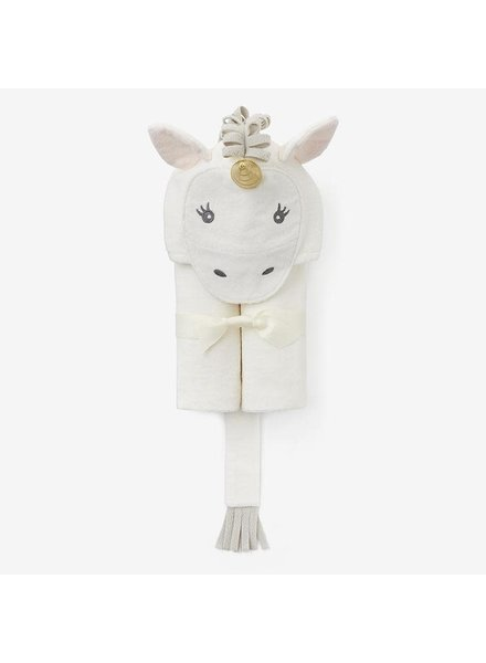 Elegant Baby Unicorn Hooded Bath Wrap Towel