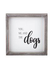 Glory Haus You Me & The Dogs Framed Board