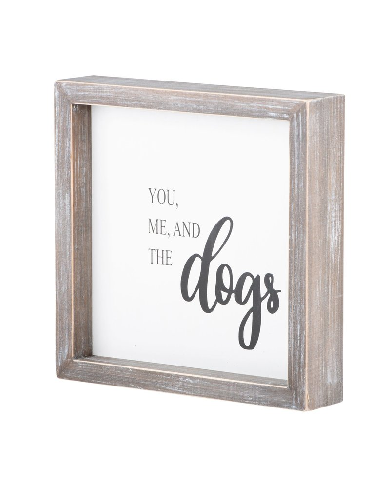 Glory Haus Glory Haus You Me & The Dogs Framed Board