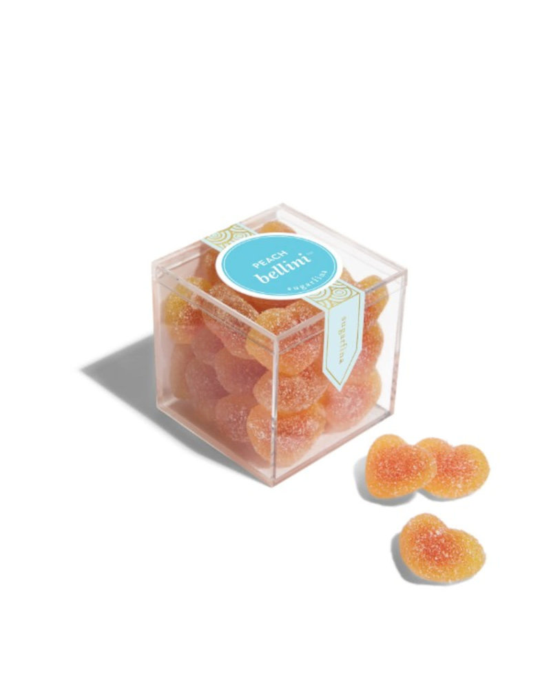 sugarfina Sugarfina Small Candy Cube - Peach Bellini