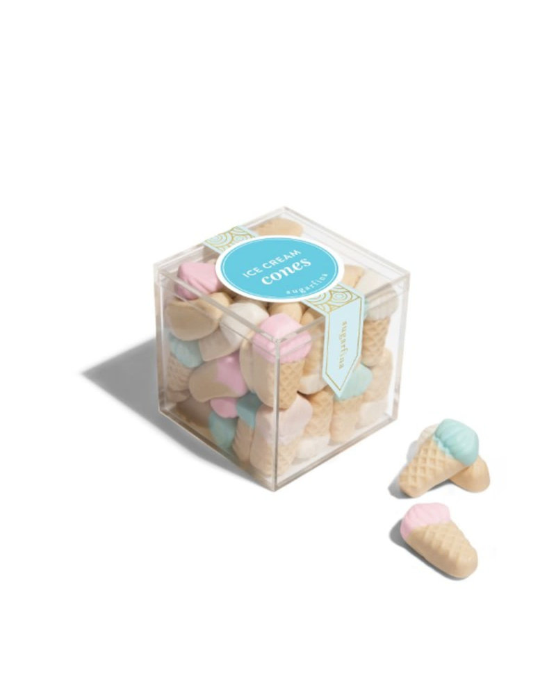 sugarfina Sugarfina Small Candy Cube - Ice Cream Cones