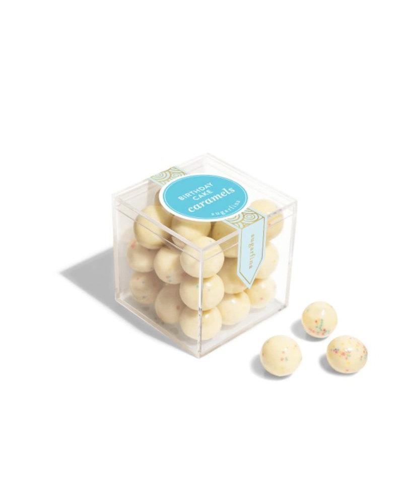 sugarfina Sugarfina Small Candy Cube - Birthday Cake Caramels