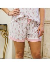 ROYAL STANDARD Champagne Pajama Shorts