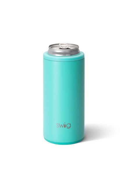 Swig Aqua Skinny Can Cooler