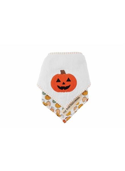 Mudpie Mudpie Halloween Bandana Bib Set