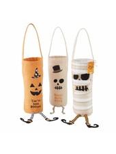 Mudpie Mudpie Halloween Bottle Bag - 3 Designs