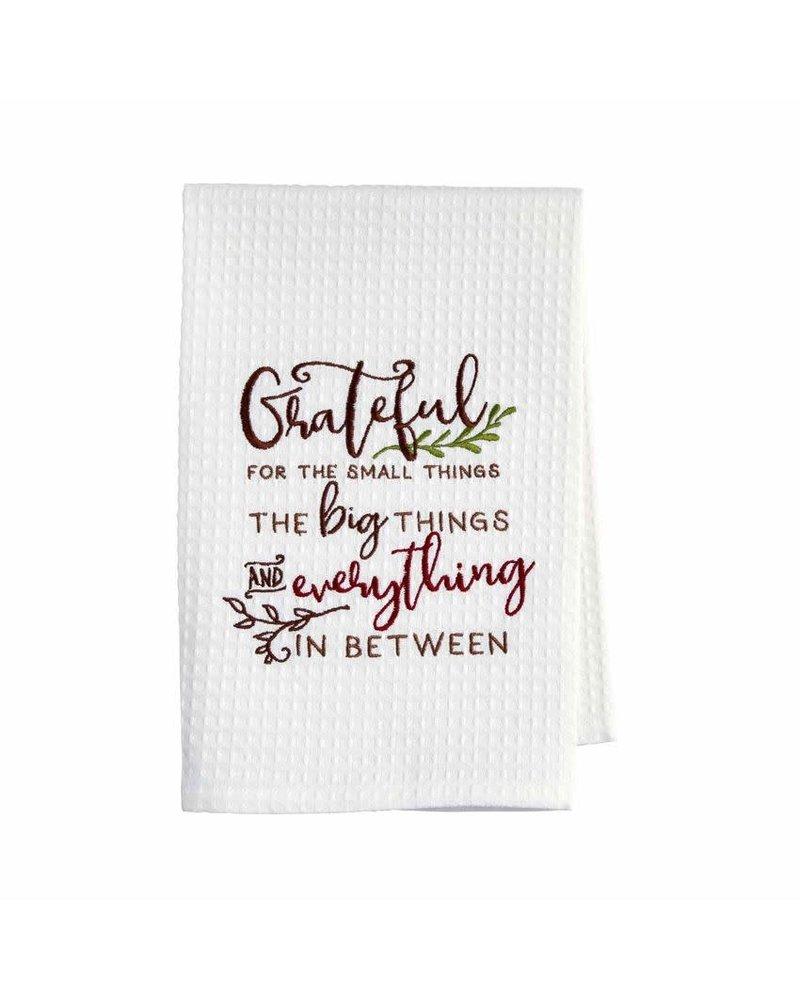 Mudpie Mudpie Thanksgiving Waffle Towels