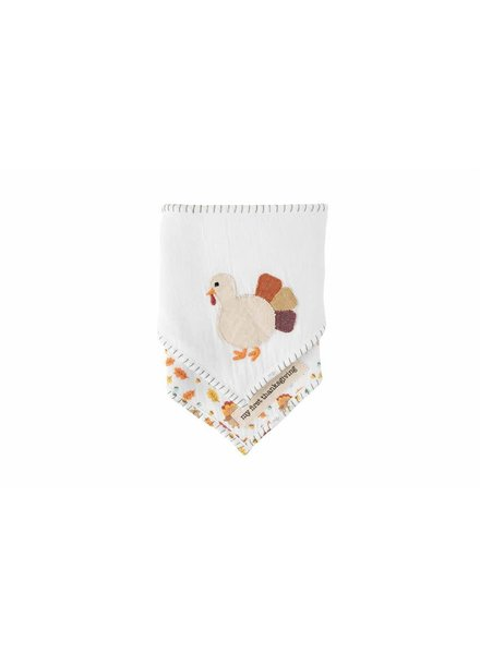 Mudpie Thanksgiving Bandana Bib Set