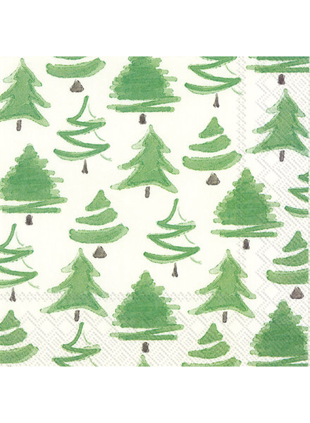 Boston International Christmas Trees Cocktail Napkin
