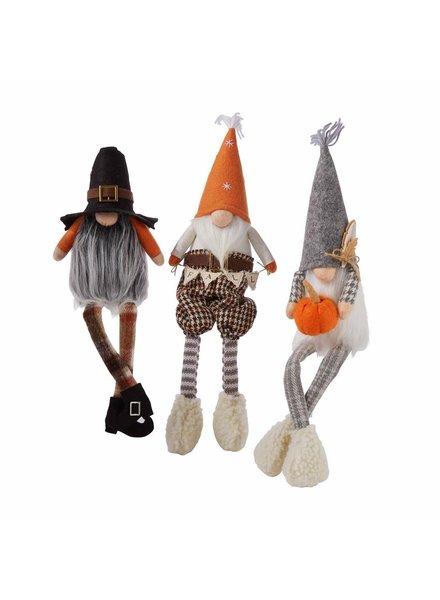 Mudpie Mudpie Fall Dangle Leg Gnomes