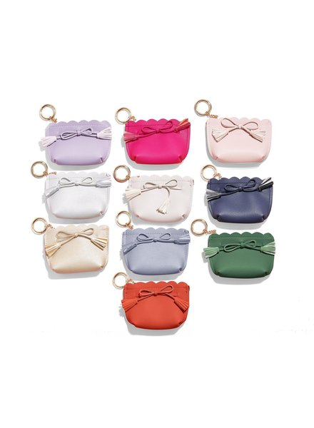 Two's Company Coin Purse Key Chain