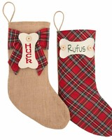 Mudpie Mudpie Personalized Dog Stockings