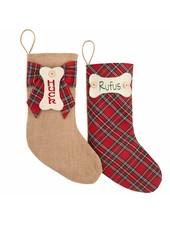 Mudpie Mudpie Personalized Dog Stockings
