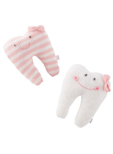 Mudpie Pink Tooth Fairy Pillows