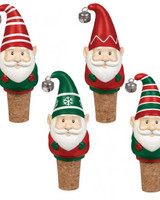 Grasslands Road Christmas Gnome Wine Bottle Toppers