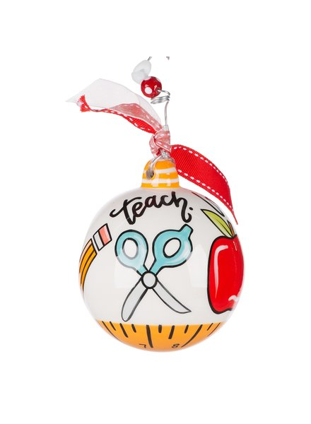 Glory Haus Teach Love Inspire Christmas Ornament