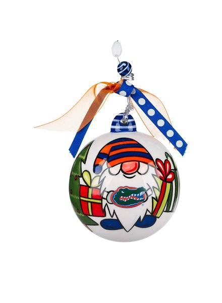 Glory Haus Florida Gators Gnome Christmas Ornament