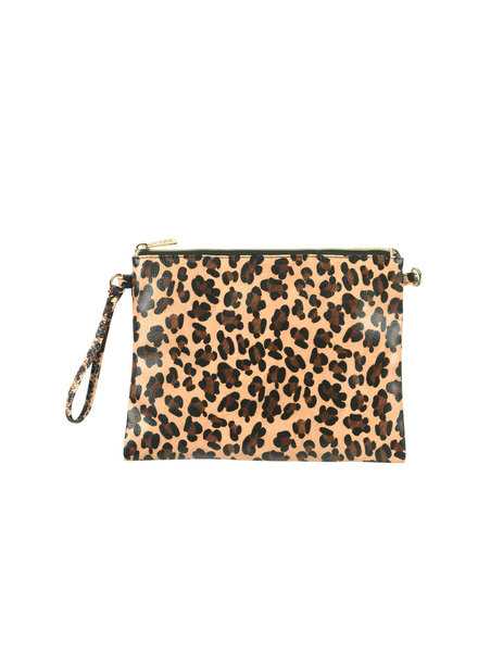 Wholesale Boutique Leopard Crossbody/Wristlet