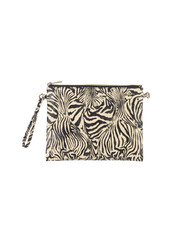 Wholesale Boutique Zebra Print Crossbody/Wristlet
