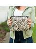 Wholesale Boutique WB Hayley Crossbody Purse -  Safari Zebra