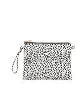 Wholesale Boutique Black & White Spot Crossbody/Wristlet