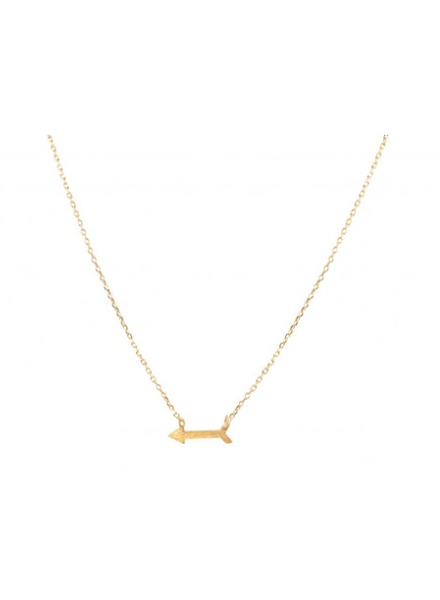 Wholesale Boutique Golden Arrow Necklace