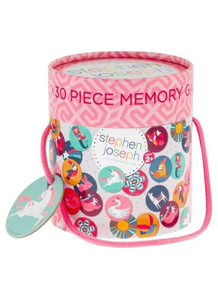 Stephen Joseph Pink Unicorn Memory Game